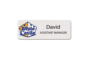 White Castle Employee Name Tags