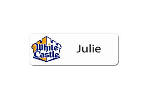 White Castle Name Tags